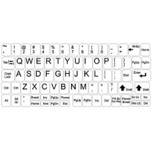 Key stickers - big kit - white background