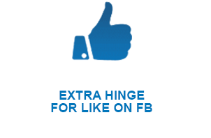 EXTRA HINGE FOR LIKE ON FB